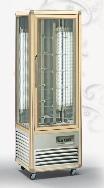 TECFRIGO ROTATING PATISSERIE DISPLAY CHILLED SHELVES